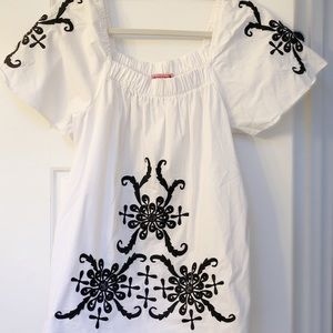 Embroidered Top MA